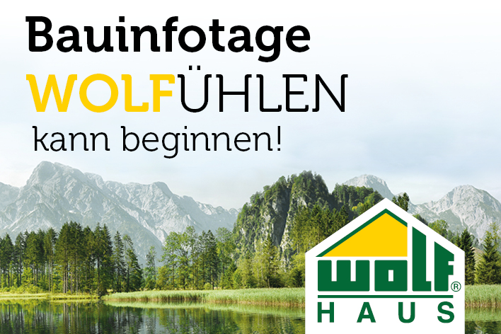 WOLF Haus - Bauinfotag September