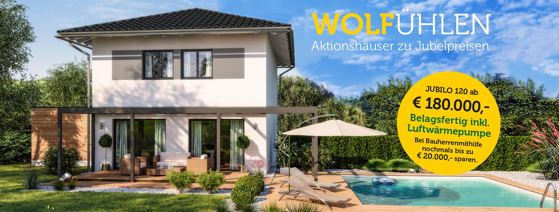 Fertighaus bauen mit WOLF Haus - Gesund, ökologisch und ...