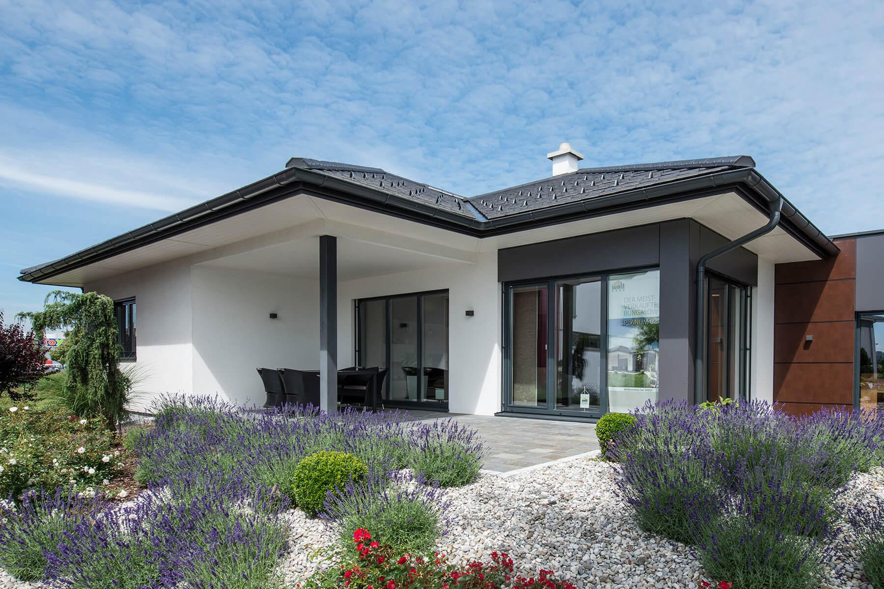 Musterhäuser Fertighaus österreich Bungalow Wolf Haus