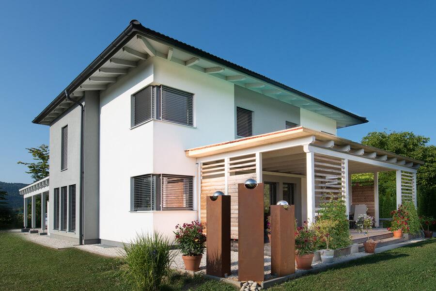 fertighaus referenzen bungalow individuelle planung. Black Bedroom Furniture Sets. Home Design Ideas