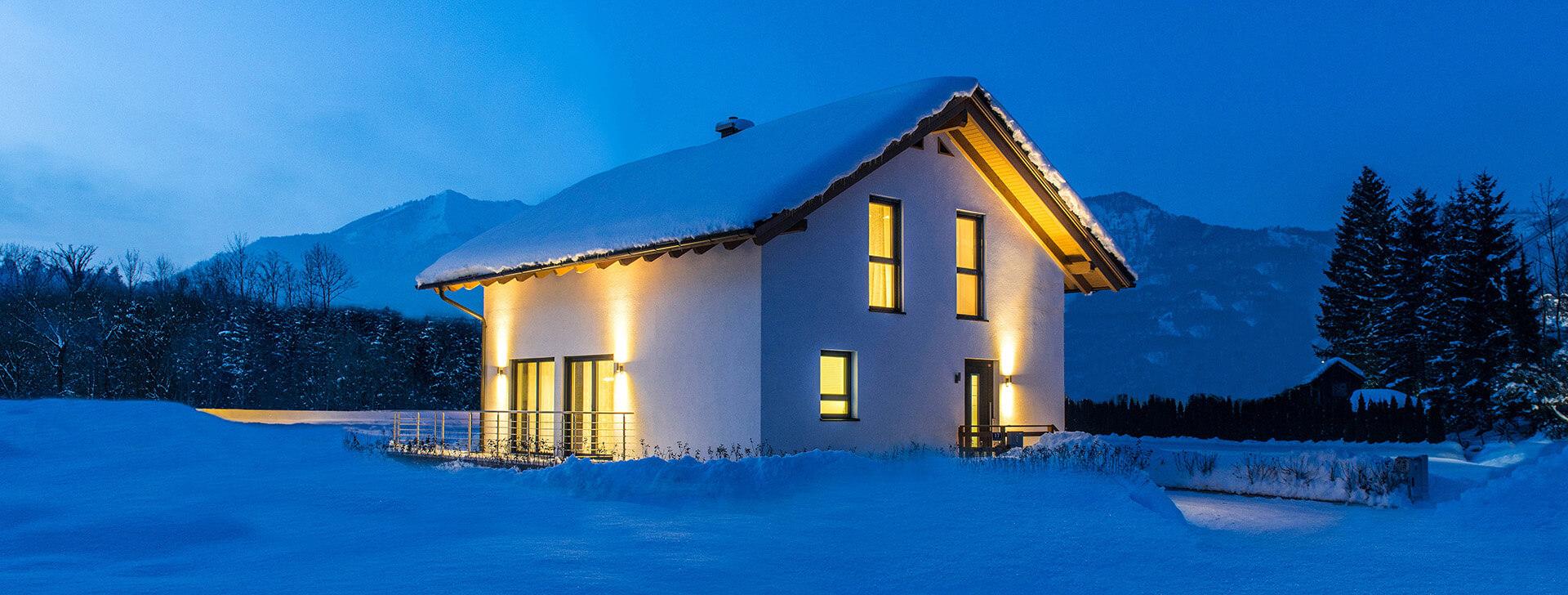 Fertighaus und keller aus einer hand wolf haus bauen for Haus bauen fertighaus