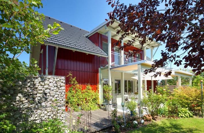 Fertigteilhaus modern  WOLF Haus - Fertighaus, Fertigteilhaus, Fertighäuser Österreich